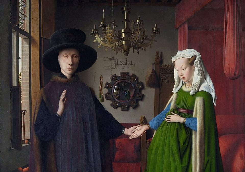 """التاجر الثري الذي وثّق زواجه في لوحة: """"بورتريه ارنولفيني"""""""