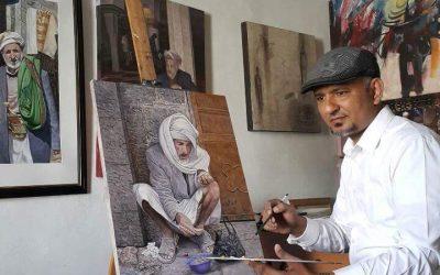 زكي اليافعي – فنان يمَني