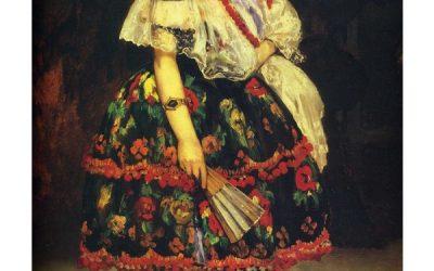 """لوحة الراقصة الإسبانية """"لولا دي فالنس"""""""