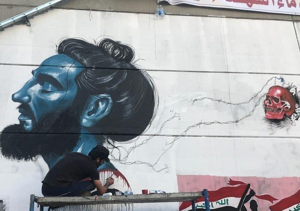 فن الشارع والثورة العراقية(2019): كيف عبّر شباب العراق عن رفضهم ؟