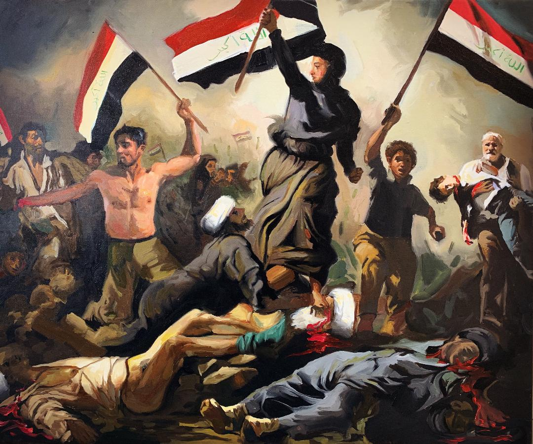 باسم الشاكر فنان العراق