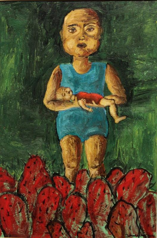 جمان النمري لوحة