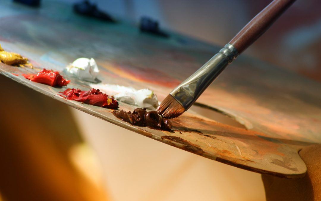 الألوان الزيتية: الأساسيات،المواد ونصائح عامة.