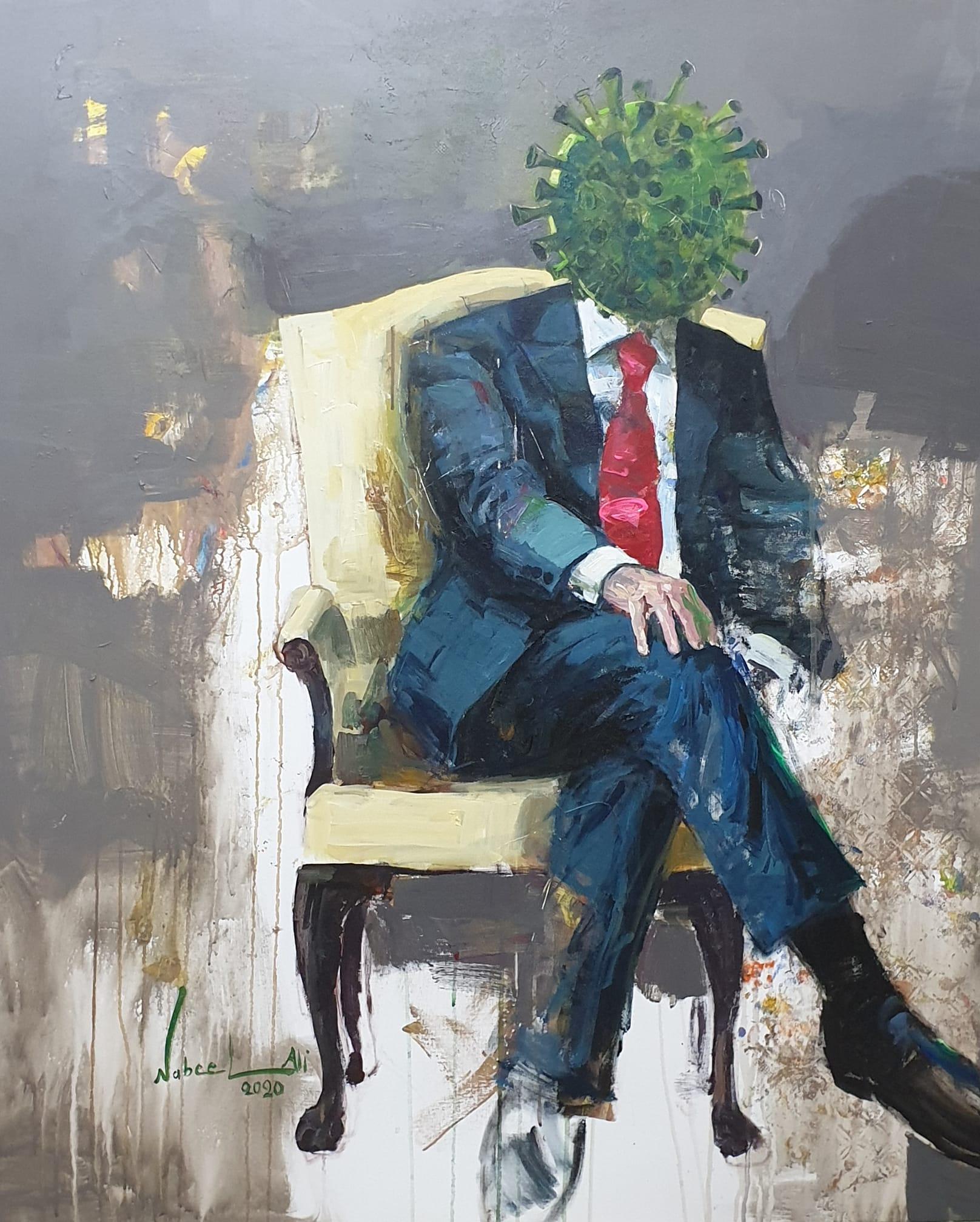 كورونا الفن العربي
