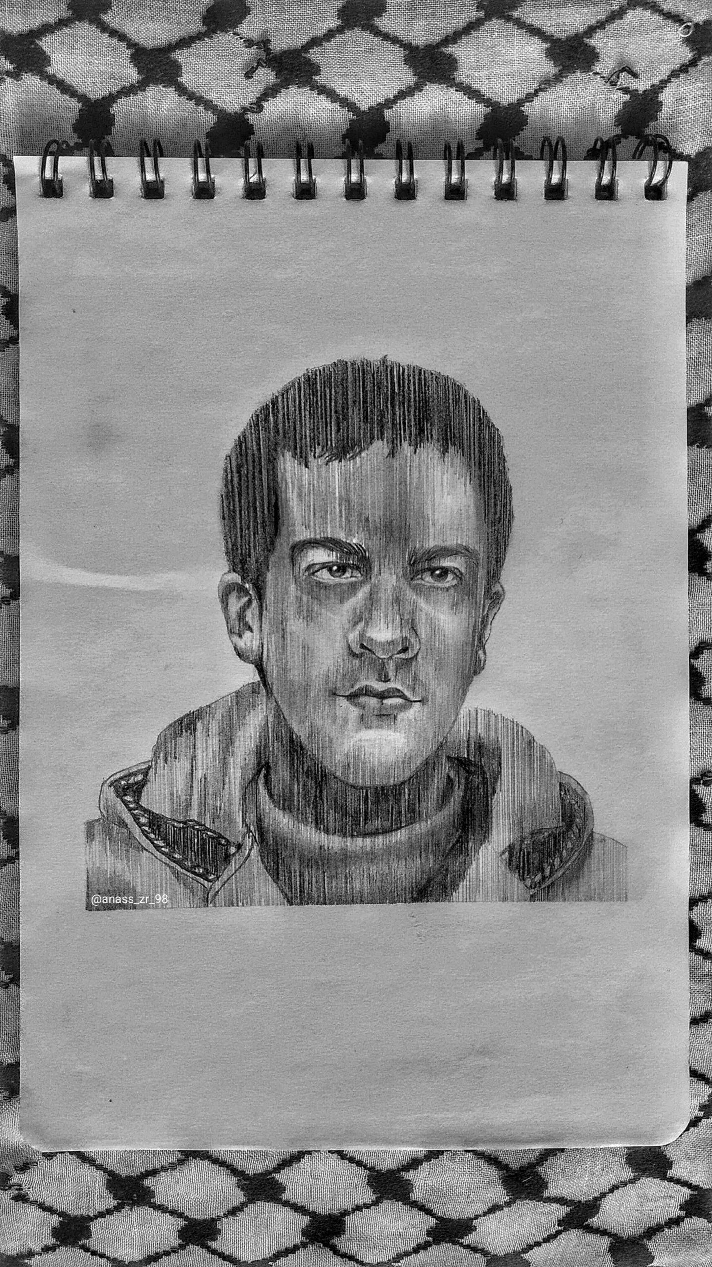 عمل فني إياد حلاق