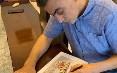لقاء مع رسّام الكاريكاتير ناصر الجعفري