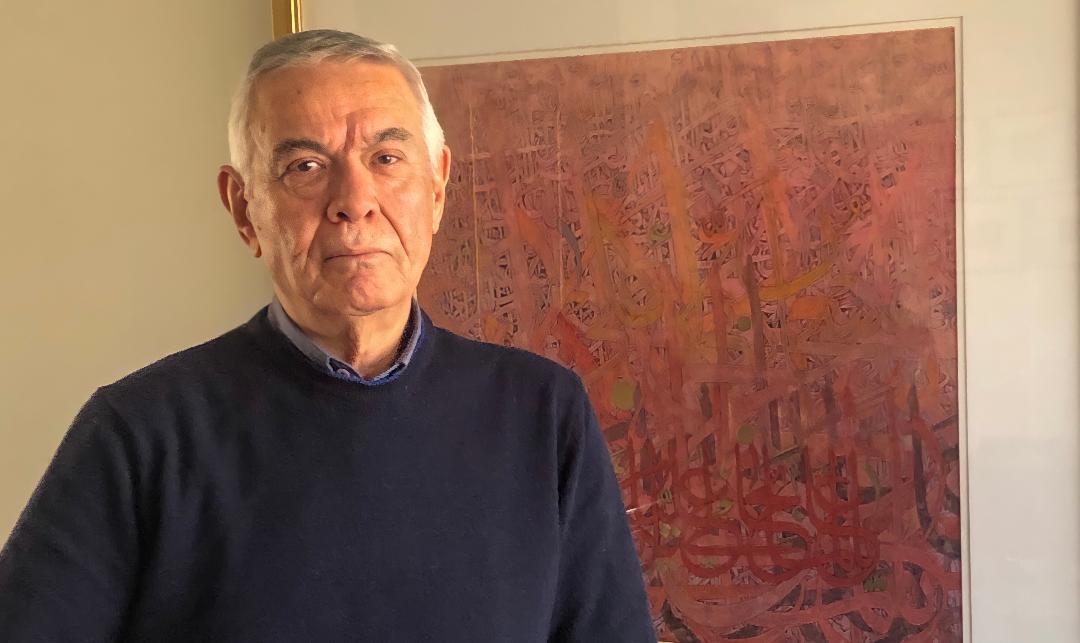 رسام الحروف العربية: الفنان الأردني فاروق لمبز