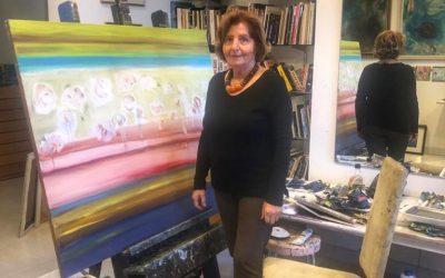 الفنانة هند ناصر |  الناشطة والرائدة في العمل الثقافي