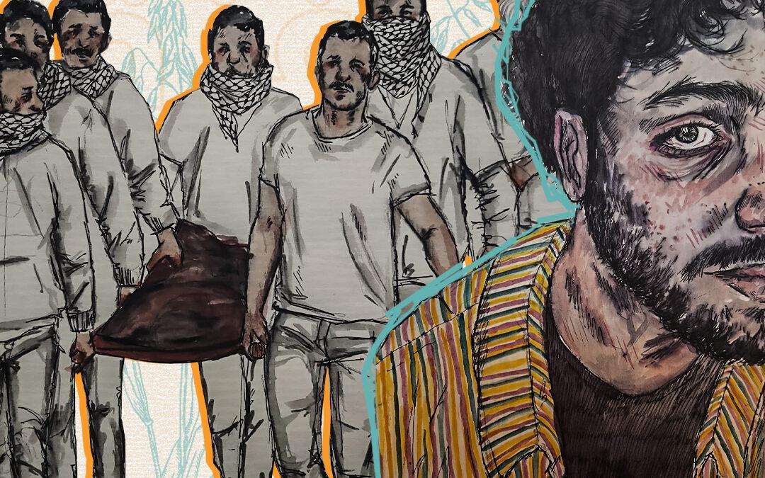 نظرة على فناني غزة الشباب: فرصة لخلق الجمال في ظل الحصار والحرب