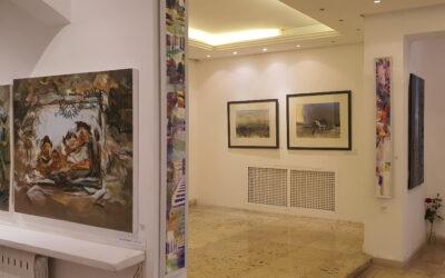 جاليري رؤى: معرض جماعي يروي فلسطين