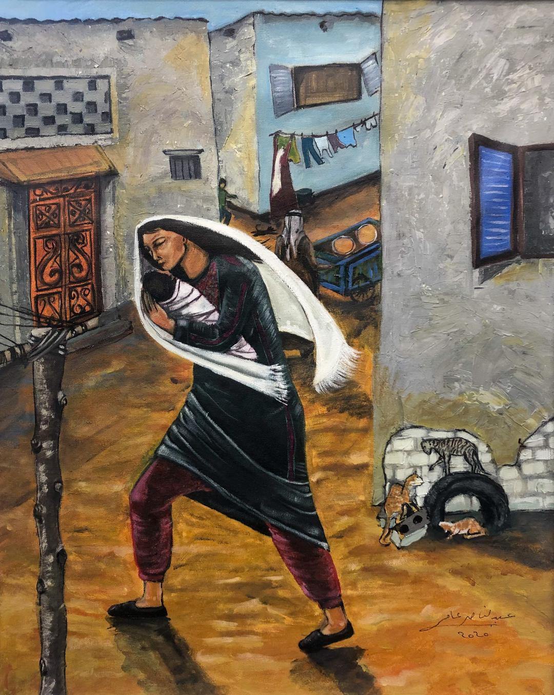 الفنان عبدالناصر عامر