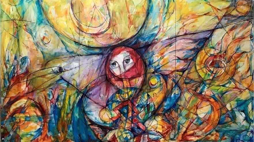 في عنف وتناغم: المعرض الاستعادي للفنان حفيظ قسيس